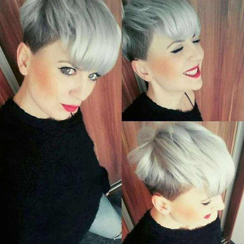 Short Hairstyle Grey 2016 - 4