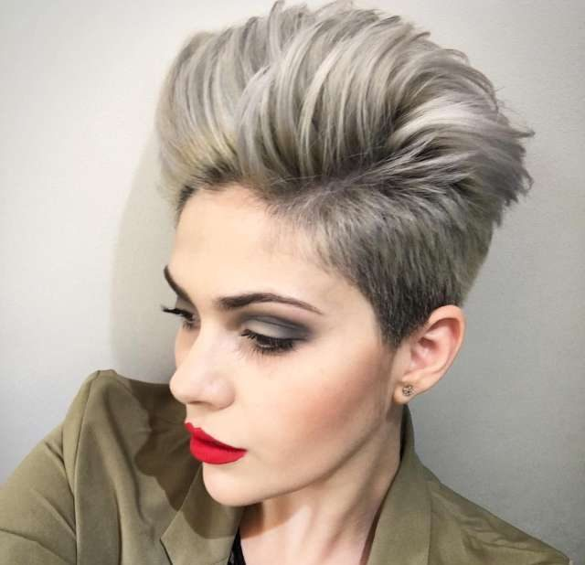 2017 Short Hairstyles For Fine Hair - 1