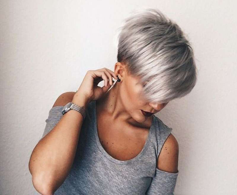 Short Hairstyles Dark Hair 2017 - 2