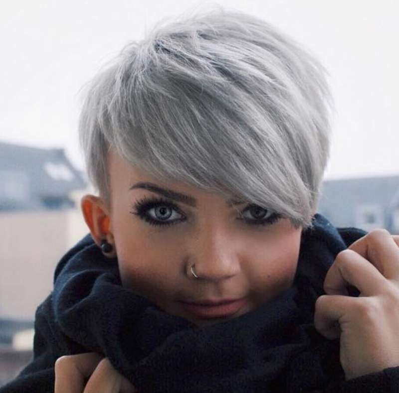 Short Hairstyles Dark Hair 2017 - 3