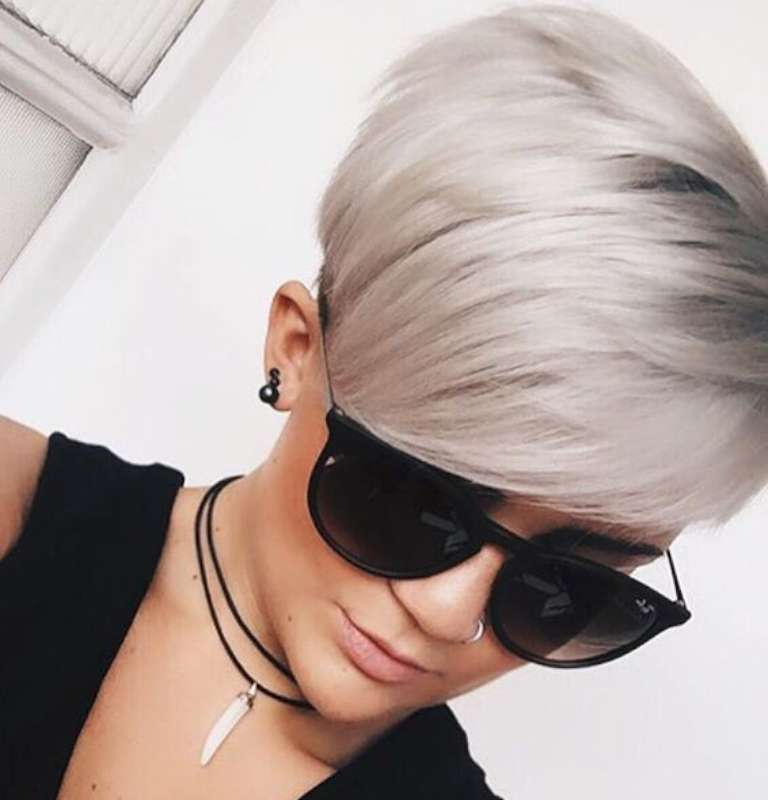 Short Hairstyles Dark Hair 2017 - 4