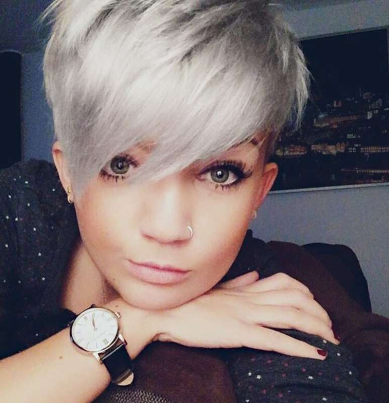 Short Hairstyles Dark Hair 2017 - 5