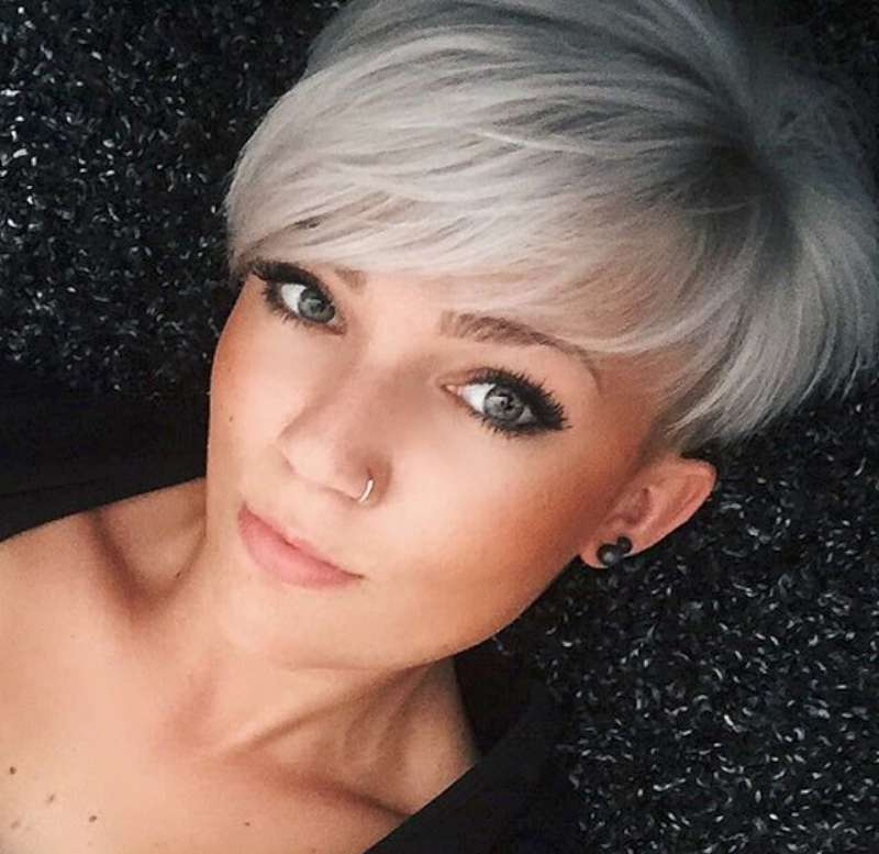 Short Hairstyles Dark Hair 2017 - 7