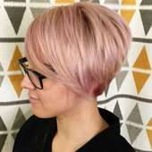 Rose Hairstyles For Short Hair - 9