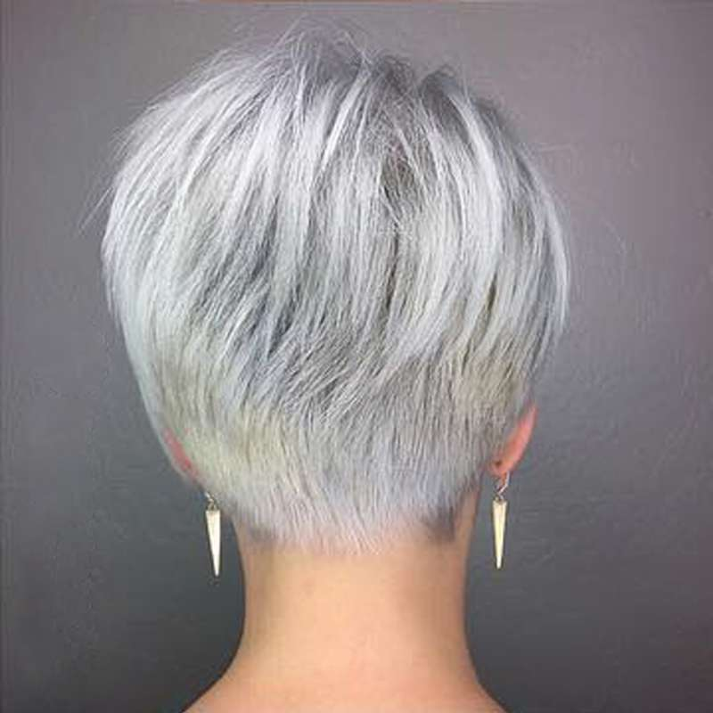 Short Hairstyle Grey 2017 - 3