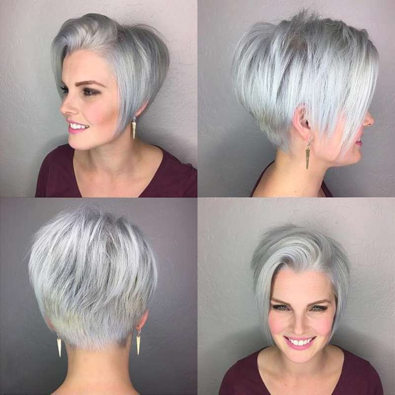 Short Hairstyle Grey 2017 - 1