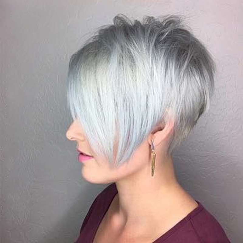 Short Hairstyle Grey 2017 - 7