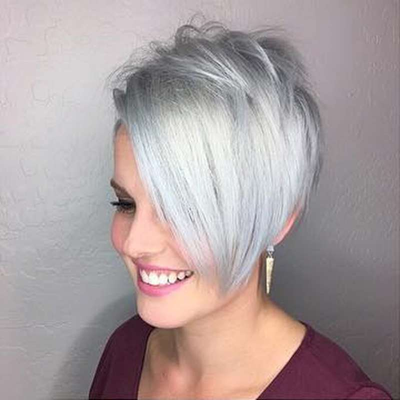 Short Hairstyle Grey 2017 - 9