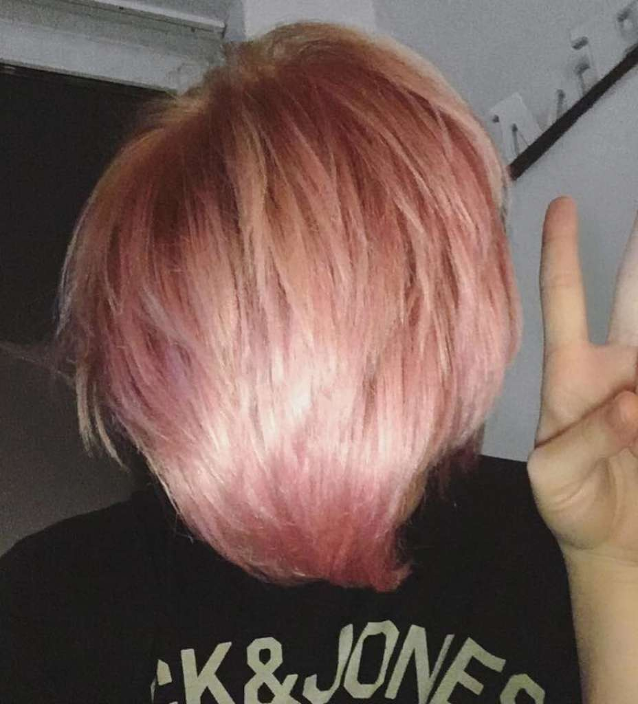 Short Pink Hairstyles 2017 - 7
