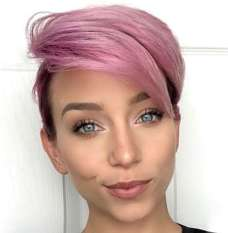 Short Purple Hairstyles 2017 - 3