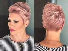 Short Haircuts Pink 2017 - 1