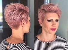 Short Haircuts Pink 2017 - 6