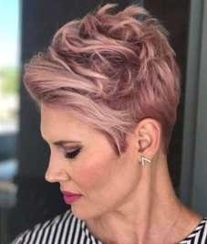 Short Haircuts Pink 2017 - 7