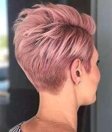 Short Haircuts Pink 2017 - 8