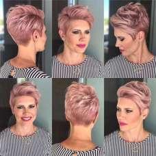 Short Haircuts Pink 2017 - 9