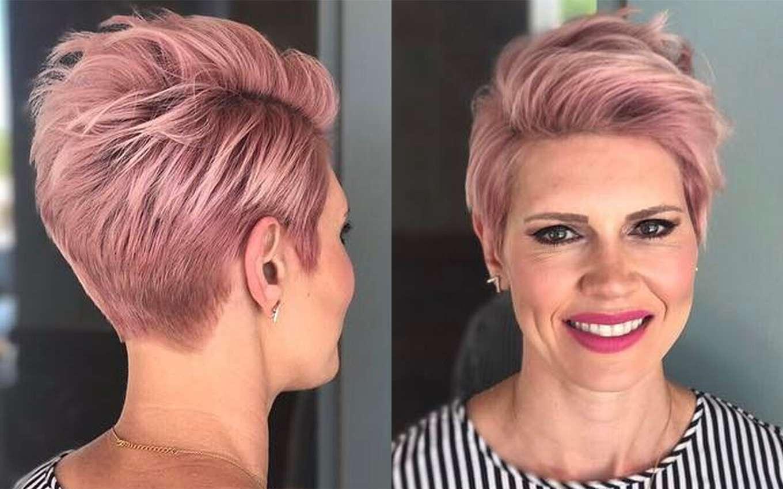 Pinks Hairstyles: Short Haircuts Pink 2017