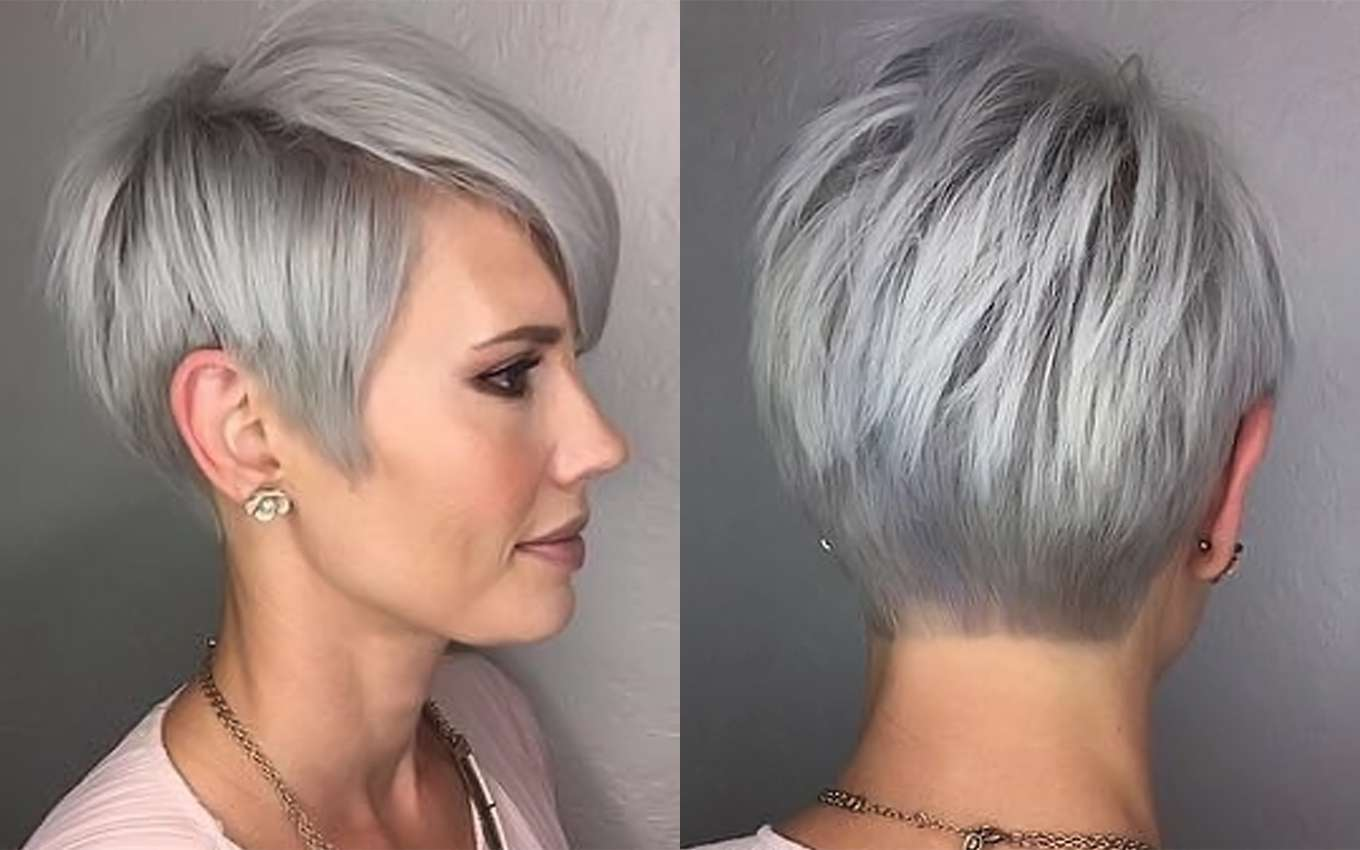 Short Grey Hairstyles: Short Hairstyle Grey Hair