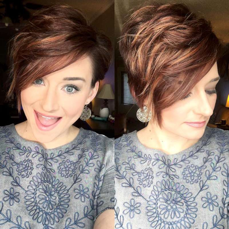Kaycie Harrison Short Hairstyles - 10