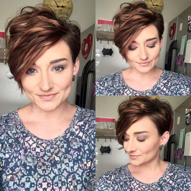 Kaycie Harrison Short Hairstyles - 8