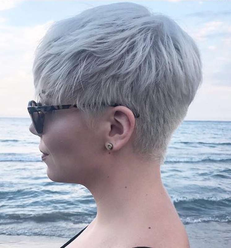 Short Textured Hairstyles For Fine Hair