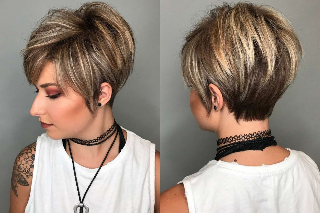 2018 short hairstyle fashion