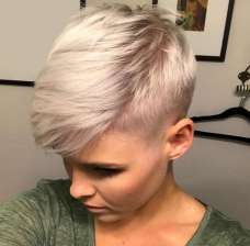 Christina Perez Short Hairstyles - 1