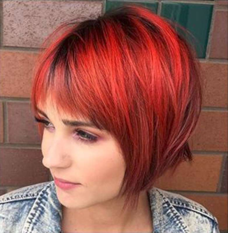 Short Hairstyles Red And Black - 3