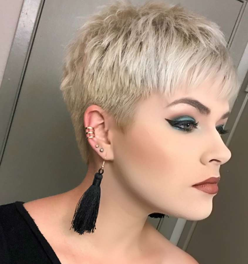 Kingsley Brown Short Hairstyles - 1