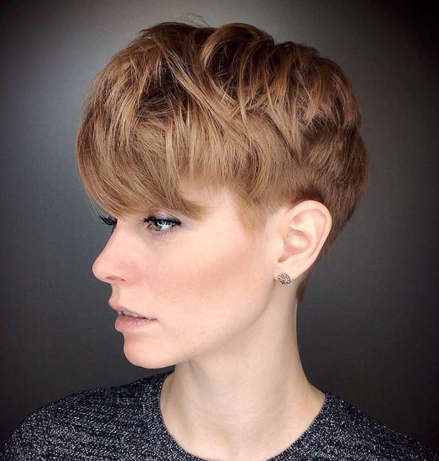 Alicia Simone Short Hairstyles - 2