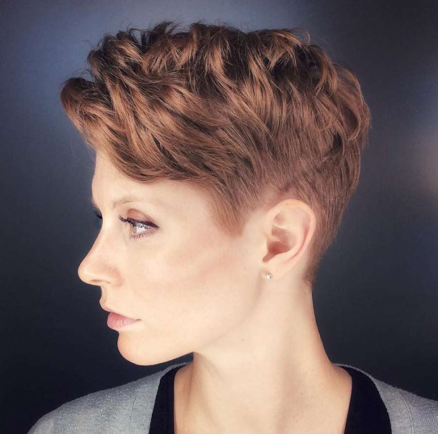 Alicia Simone Short Hairstyles - 4
