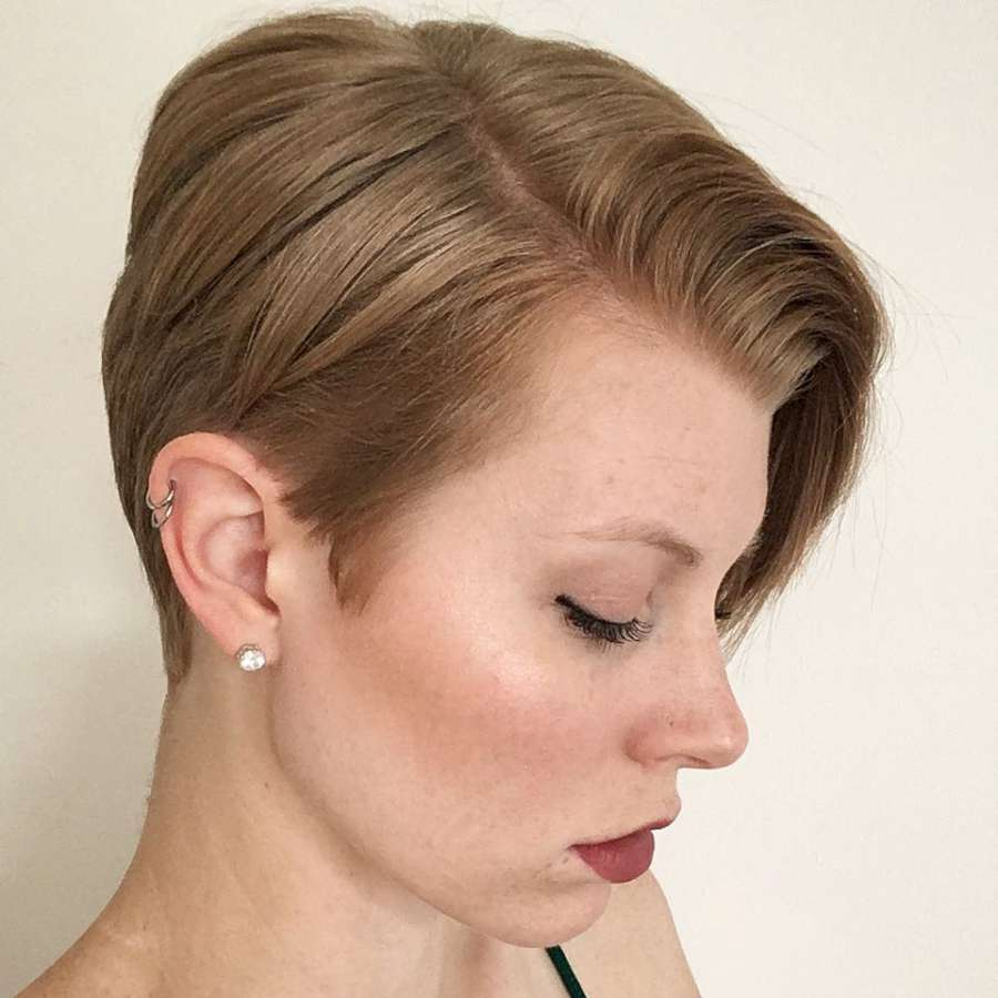 Alicia Simone Short Hairstyles - 5