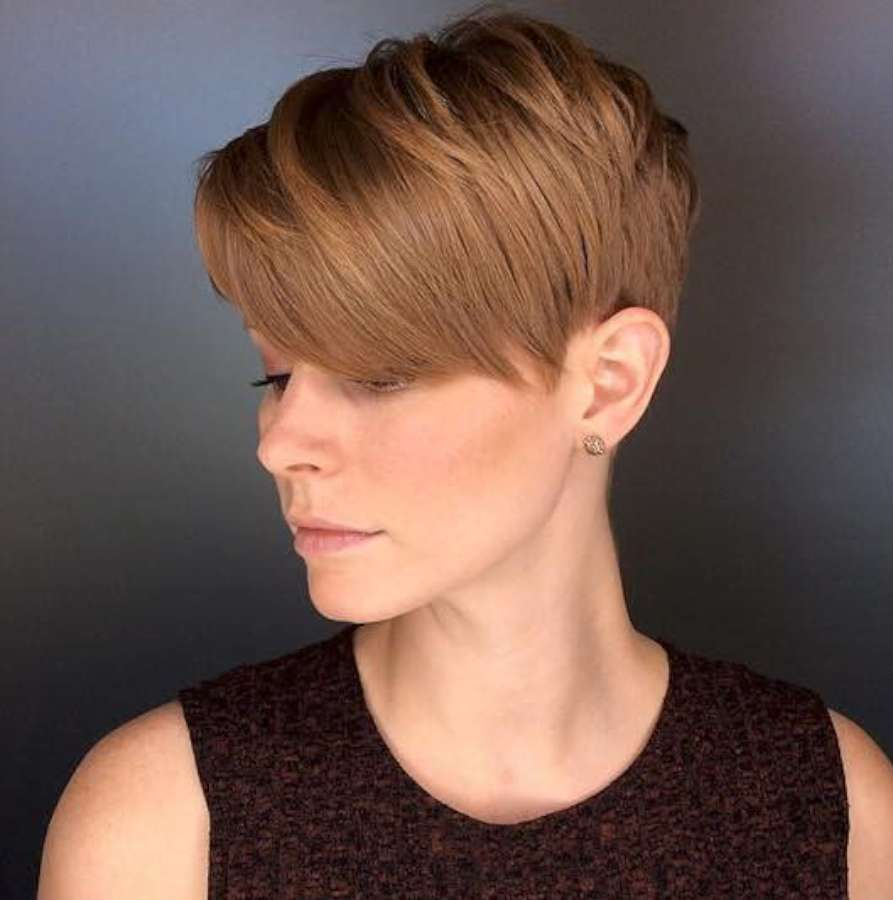 Alicia Simone Short Hairstyles - 7