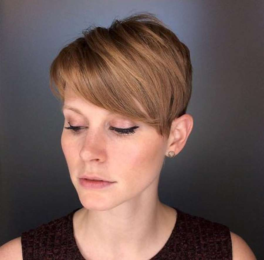 Alicia Simone Short Hairstyles - 9