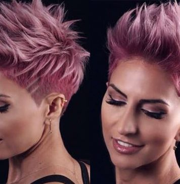 Alineh Short Hairstyles