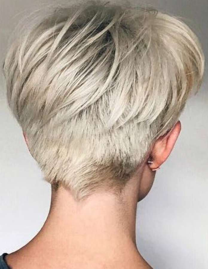 New Short Hairstyle 2018 - 1