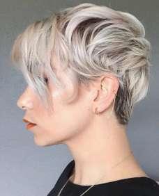 Sarah Louwho Short Hairstyles - 7