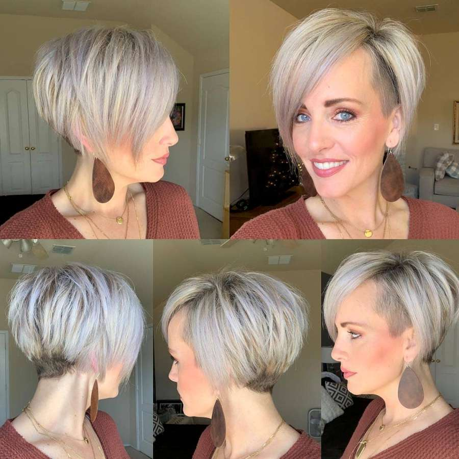 Haley Young Short Hairstyles - 9
