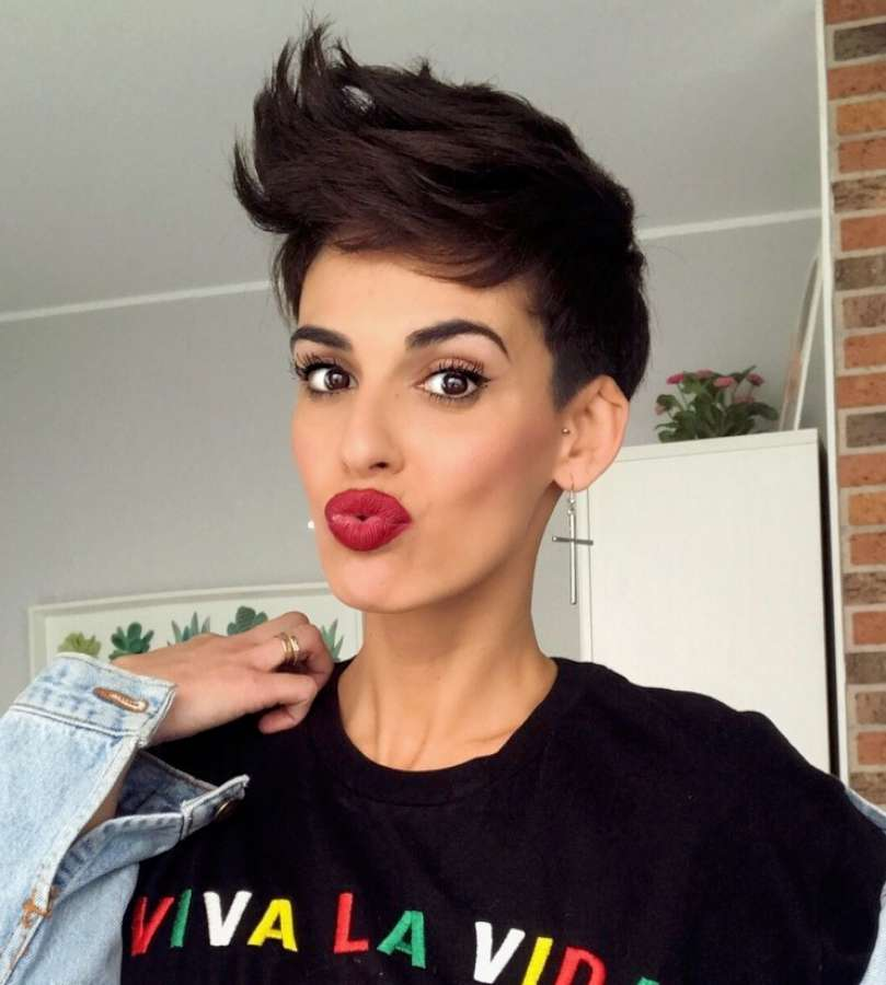 Inma Delope Short Hairstyles - 2