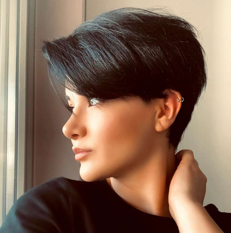 Merve Top Short Hairstyles - 9