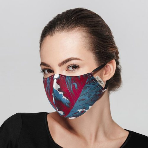 Mascherina Filtrante Mask Acanto cotone azo free