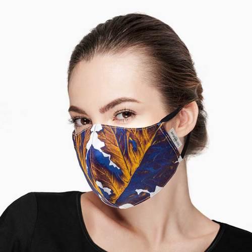 Mascherina Filtrante Mask Acanto Gold donna