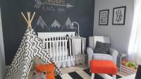 Black, White and Grey Theme Nursery Inspiration ...