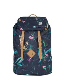 THE PACK SOCIETY Σακίδιο Premium Backpack Dark Blue Jungle Allover TPS184CPR703.75318