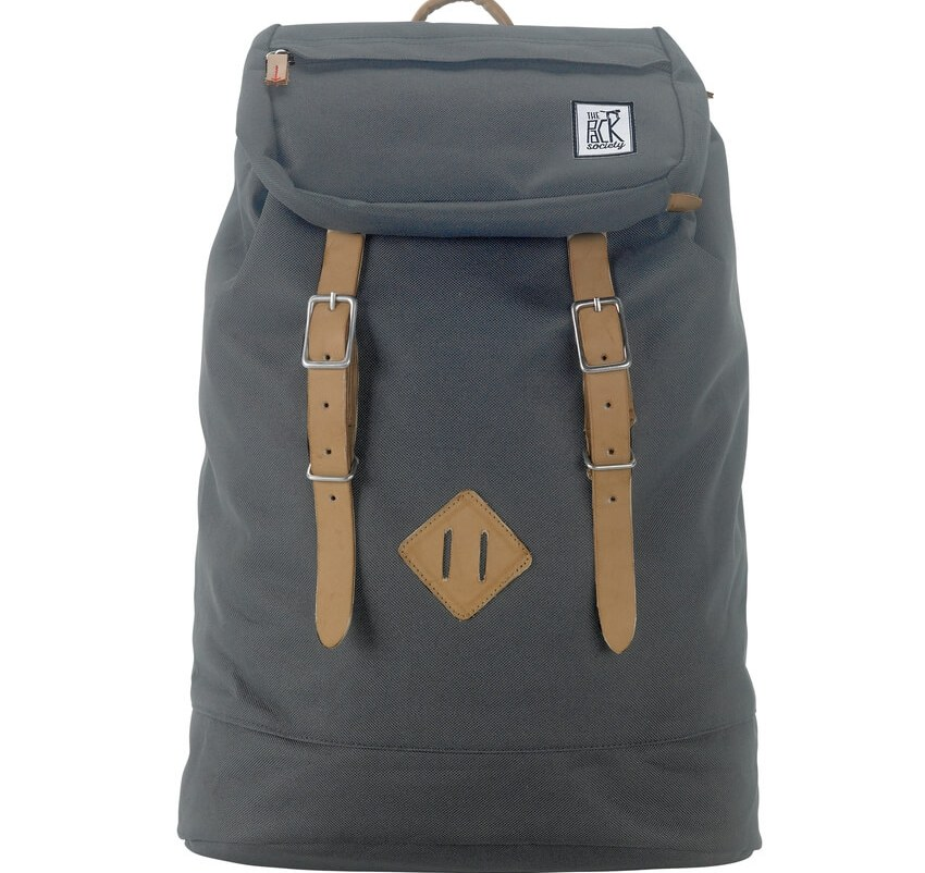 THE PACK SOCIETY Σακίδιο Premium Backpack Solid Charcoal TPS999CLA703.03318