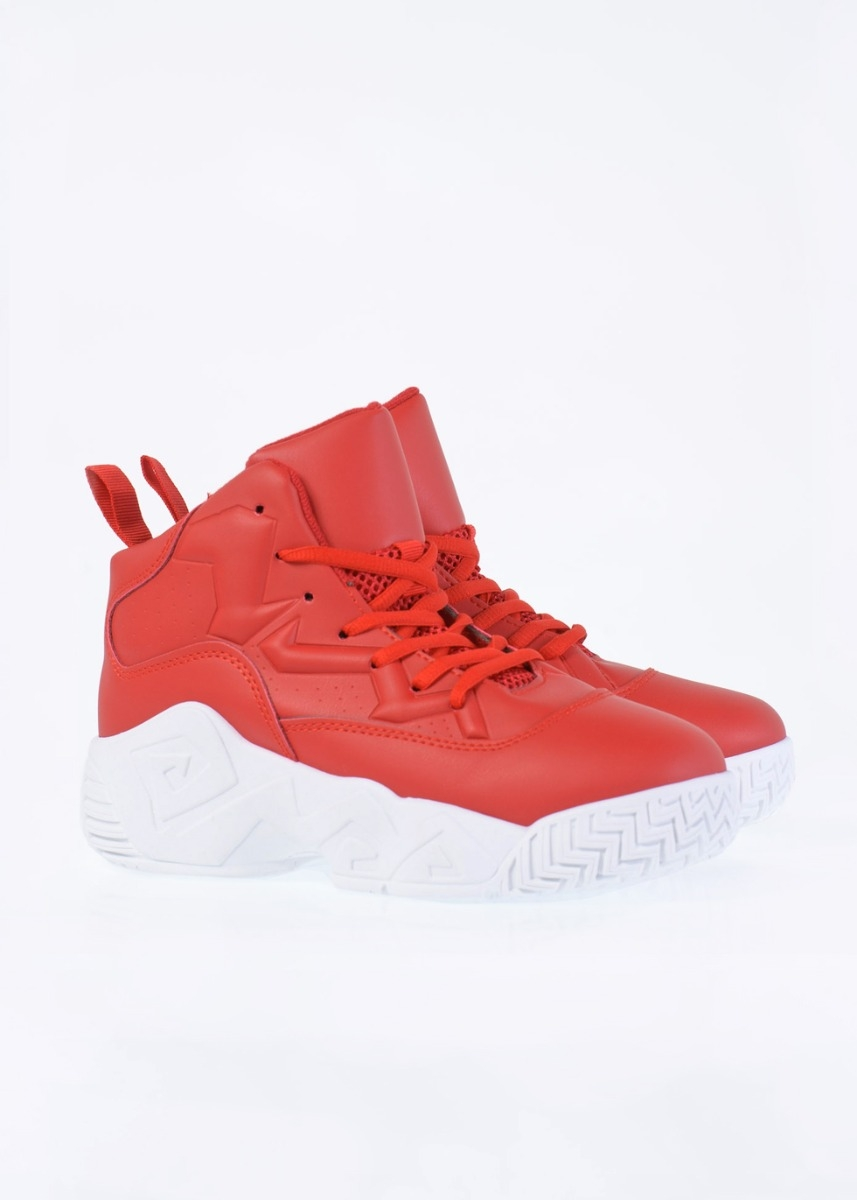 Harvey Sneaker Boot, Κόκκινο
