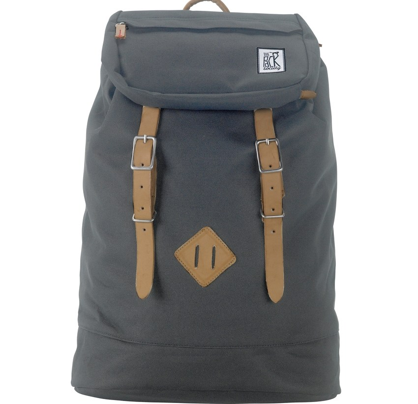 THE PACK SOCIETY Σακίδιο PREMIUM - SOLID CHARCOAL TPS999CLA703.03 118