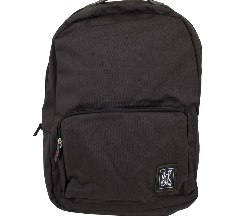 THE PACK SOCIETY Σακίδιο CLASSIC - RECYCLED BLACK FABRIC TPS999RCY702.01 118