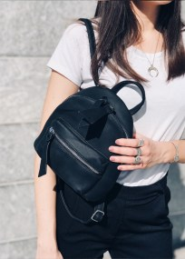 Nancy backpack, μαύρο - 93804/1