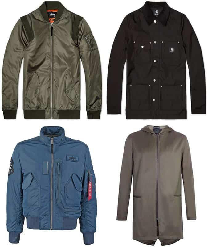 Men's Streetwear Military Jackets