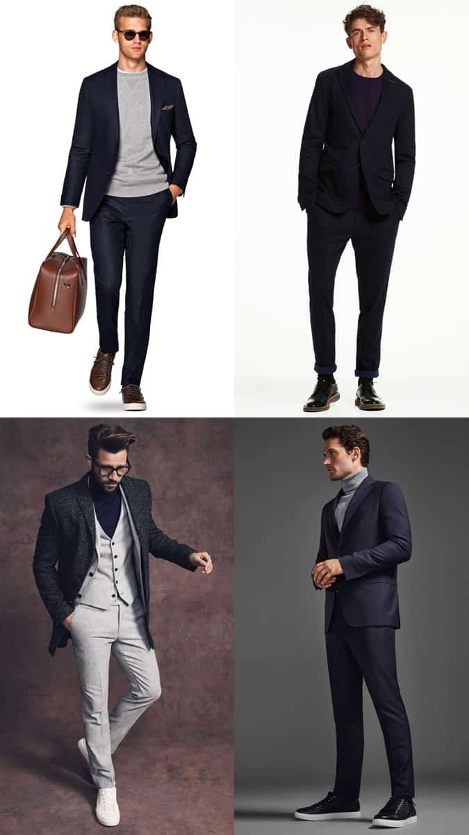 Men's Relaxed Tailoring/New Year's Eve Dinner Party Outfit Inspiration Lookbook